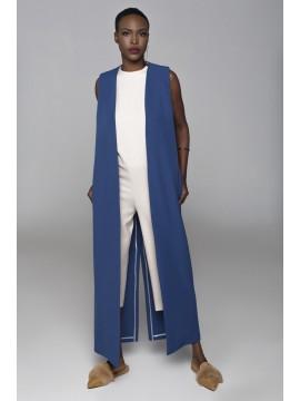 Vesta albastra minimalista - Mark Off - designeri romani