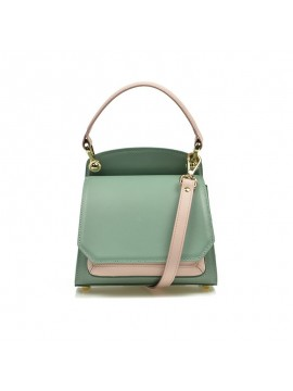 Geanta eleganta Mini Scarlett verde