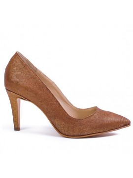 Pantofi stiletto cu toc mic - piele naturala - Joyas
