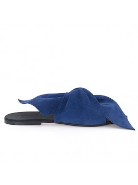 Papuci Sonia Albastri