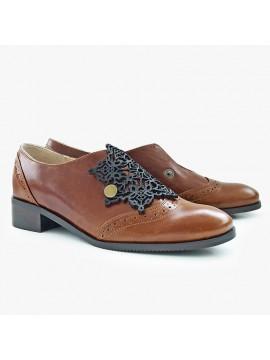 Pantofi unisex piele naturala Dinah- bianca georgescu