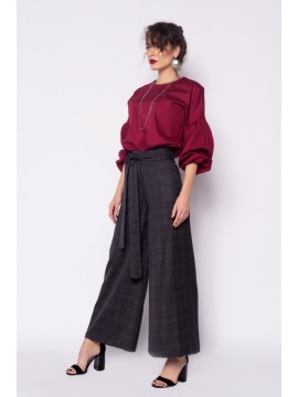 Pantaloni Culottes lana - designeri romani