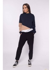 Bluza din bumbac pieptanat  - Designeri Romani  - The ITem