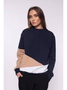 Bluza din bumbac pieptanat