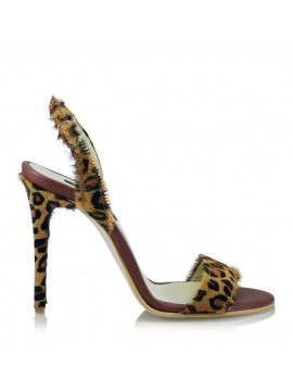 Sandale animal print   - designeri romani