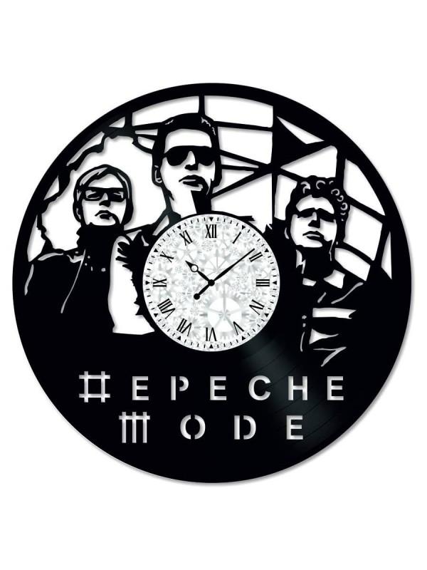 Ceas de perete Vintage din Vinil Depeche Mode