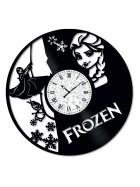 Ceas de perete Vintage din Vinil Frozen