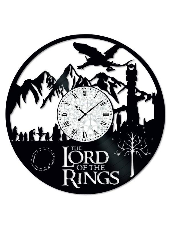 Ceas de perete Vintage din Vinil Lord of the Rings