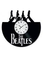 Ceas de perete Vintage din Vinil The Beatles
