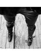 Cizme inalte, negre, piele naturala, Siamak - bianca georgescu