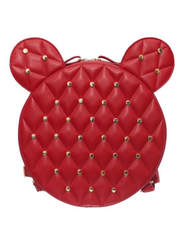 Rucsac Mickey Mouse AIME Rosu - genti piele designeri romani
