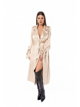 Rochie trench nude