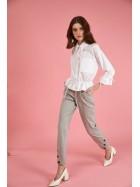 Pantalonii cu dungi bumbac  -  designeri romani  Framboise