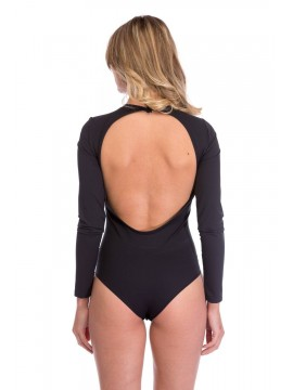 Body negru modelatorcu spatele gol - colectii designeri romani