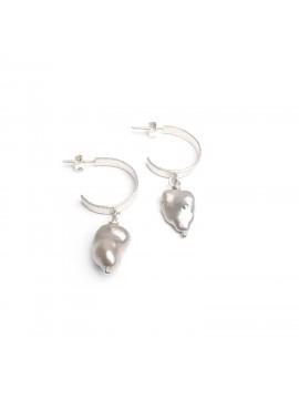 Cercei argint cu perle naturale
