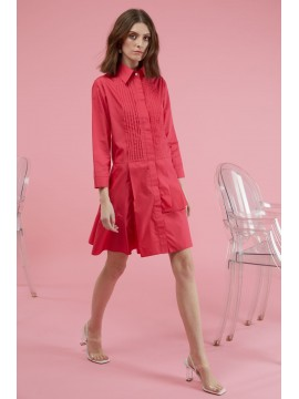 Rochie de zi scurta tip camasa Anisa