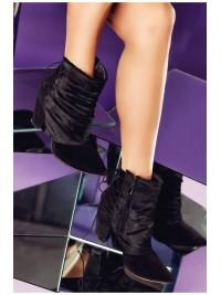 Botine negre Missy  - piele naturala - Joyas