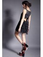 Rochie mini cu spatele decoltat