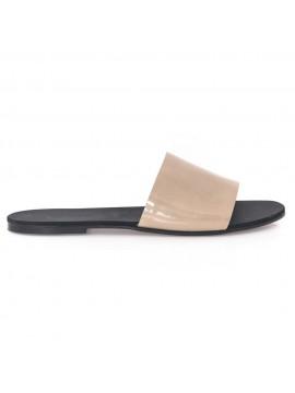 Papuci nude sidef - piele naturala - Joyas
